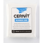 Pâte Cernit n°1 56 g Blanc opaque (027)