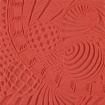Plaque de texture Cernit 9 cm Space