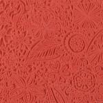 Plaque de texture Cernit 9 cm Flowers