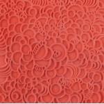Plaque de texture Cernit 9 cm Bubbles
