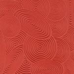 Plaque de texture Cernit 9 cm Spirals