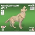 Maquette en bois Loup