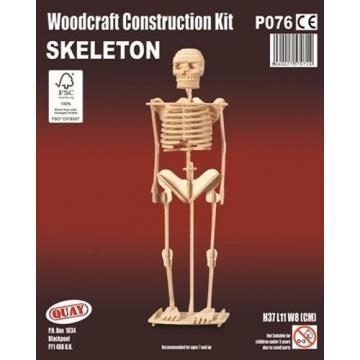P076 - 5060027570714 - Quay - Maquette en bois Squelette - 2