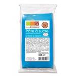 Pâte à sucre bleu (vanille) 250gr