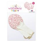 Ballons de baudruche gonflables Coeur 6 p.