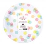 Assiettes Confettis 8 pièces