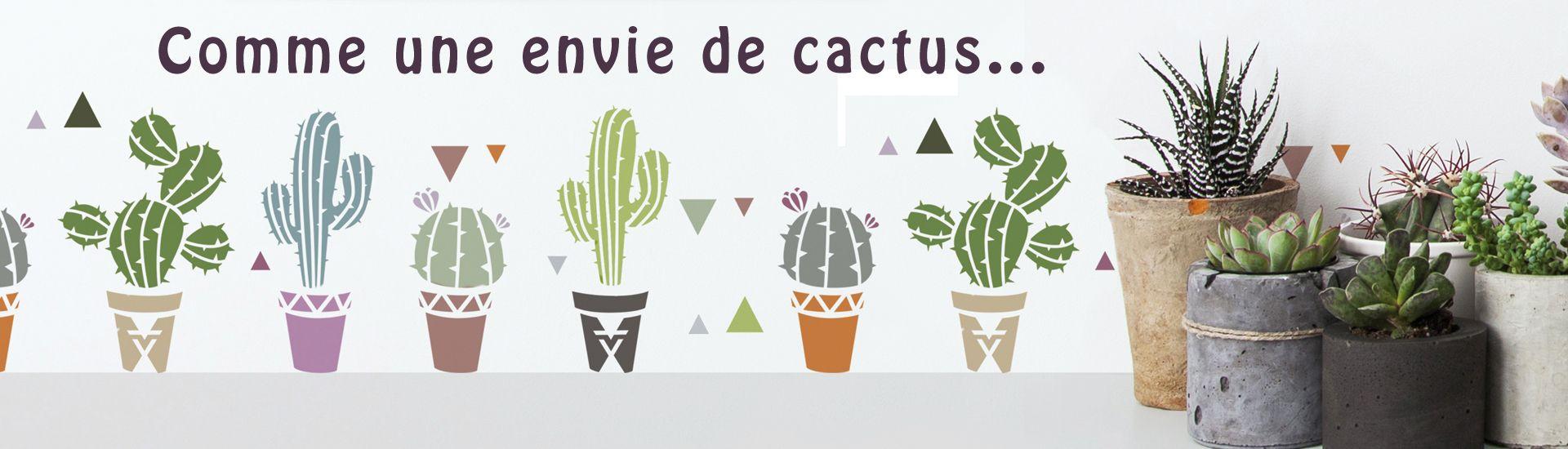 déco cactus