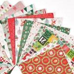 Papier et album de Noel