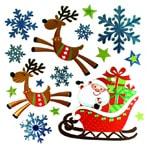 Stickers et gommettes de Noel