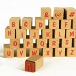 Tampon Lettres et Chiffres